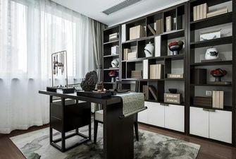 豪华型90平米中式风格书房图片