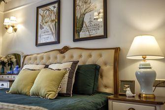 富裕型140平米四室一厅地中海风格卧室图片