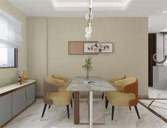 3万以下90平米轻奢风格餐厅设计图