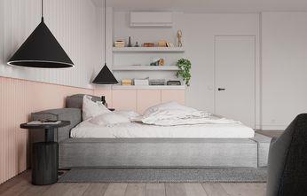 20万以上110平米复式欧式风格卧室设计图