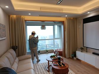 富裕型120平米三室三厅日式风格客厅欣赏图