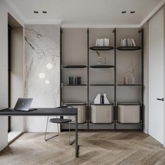 10-15万120平米三现代简约风格书房装修案例