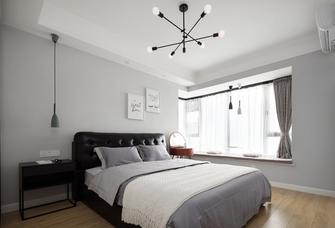 5-10万100平米三室两厅北欧风格卧室装修案例