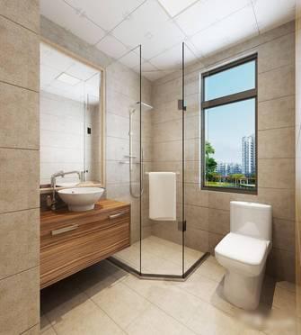 5-10万50平米一室一厅现代简约风格卫生间设计图