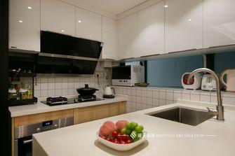 富裕型90平米三室两厅日式风格厨房图片大全