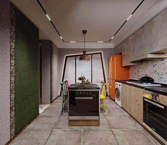 15-20万60平米一室一厅工业风风格厨房图
