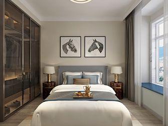 70平米三室一厅港式风格卧室效果图