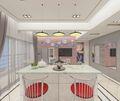 140平米三混搭风格餐厅效果图