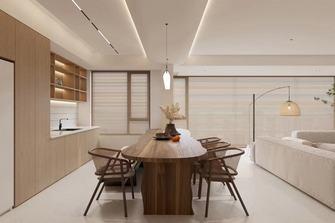 经济型130平米三室两厅日式风格餐厅图片大全