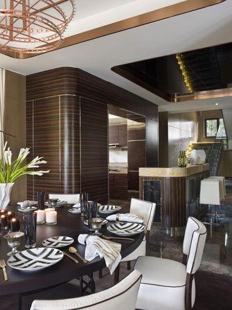 20万以上140平米复式现代简约风格餐厅设计图