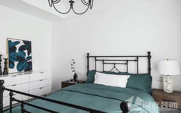 20万以上100平米四室两厅法式风格卧室欣赏图