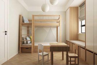 90平米三室三厅日式风格青少年房图