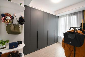 10-15万80平米三室一厅北欧风格衣帽间图