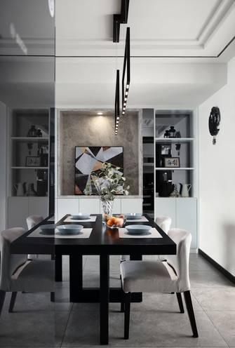 10-15万110平米三室两厅北欧风格餐厅装修效果图