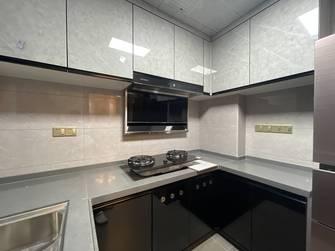 富裕型110平米三室两厅中式风格厨房图片大全