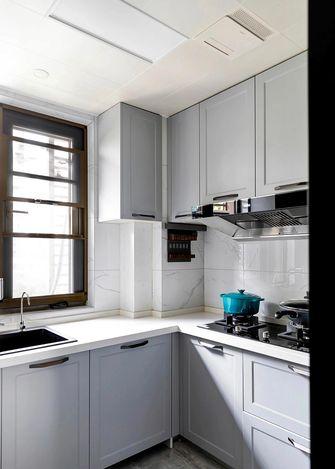 富裕型140平米三室两厅欧式风格厨房装修图片大全