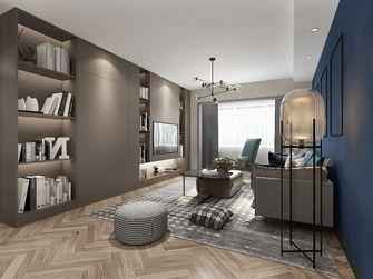 富裕型120平米三室一厅轻奢风格客厅装修效果图