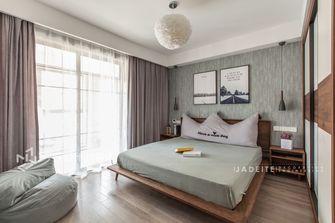 豪华型100平米三室两厅北欧风格卧室图片