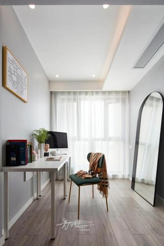 90平米三室一厅美式风格书房图片大全