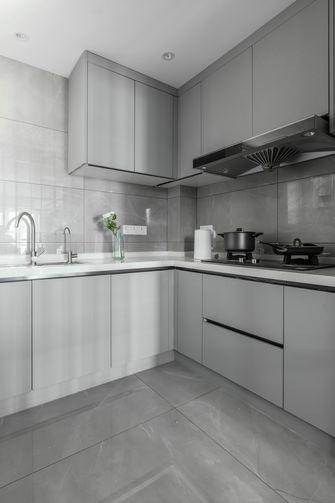 富裕型60平米复式混搭风格厨房装修效果图