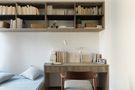 富裕型120平米三室一厅日式风格书房装修图片大全