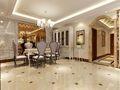 20万以上120平米三室三厅欧式风格餐厅装修案例
