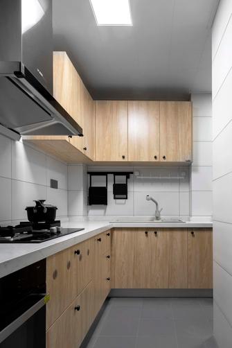 70平米一室一厅现代简约风格厨房装修图片大全