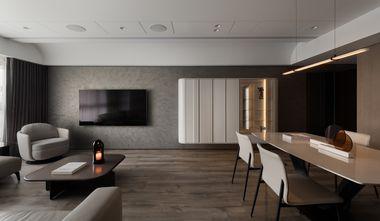 130平米四现代简约风格客厅装修案例