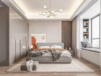 豪华型140平米三现代简约风格卧室效果图