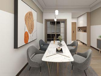 富裕型90平米三日式风格餐厅设计图
