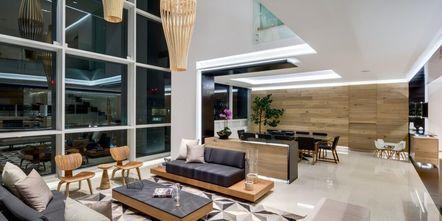 豪华型140平米四室两厅东南亚风格客厅欣赏图
