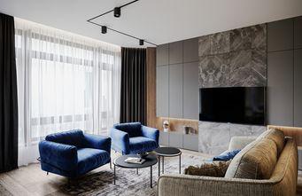 90平米一室两厅现代简约风格客厅装修案例