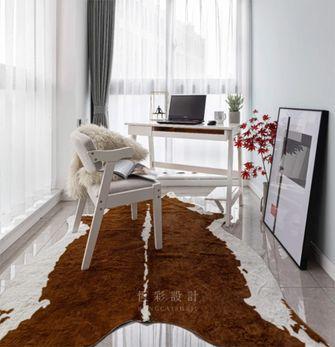 富裕型70平米三室两厅北欧风格书房装修案例