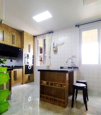 110平米三室一厅混搭风格厨房装修案例