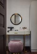 富裕型110平米现代简约风格梳妆台设计图
