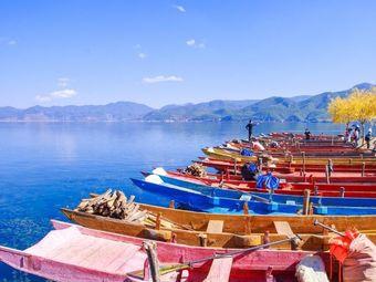 泸沽湖游船