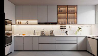富裕型80平米北欧风格厨房图