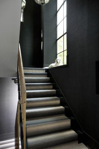 140平米轻奢风格楼梯间装修图片大全