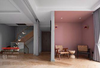 豪华型140平米别墅北欧风格楼梯间图片大全