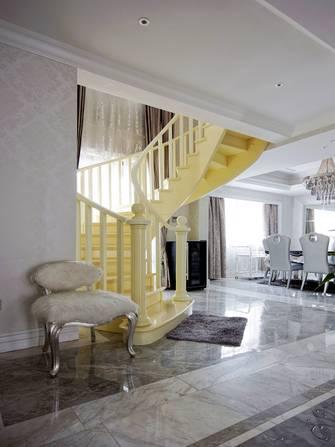 豪华型140平米别墅新古典风格楼梯间效果图
