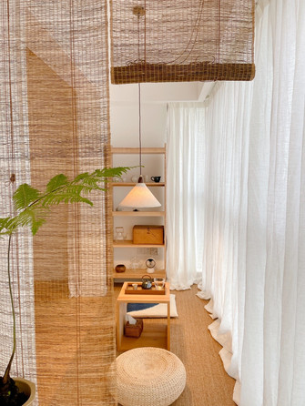 80平米日式风格阳台欣赏图