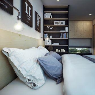60平米一居室工业风风格客厅效果图