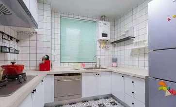 80平米现代简约风格厨房图片