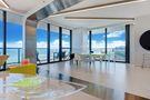 140平米三港式风格客厅装修图片大全
