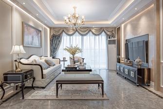 120平米欧式风格客厅装修案例