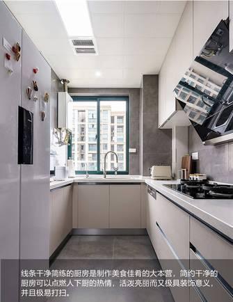 10-15万90平米三室两厅混搭风格厨房欣赏图