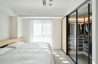 110平米一居室现代简约风格卧室装修图片大全