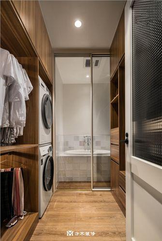 经济型90平米三室两厅公装风格衣帽间图