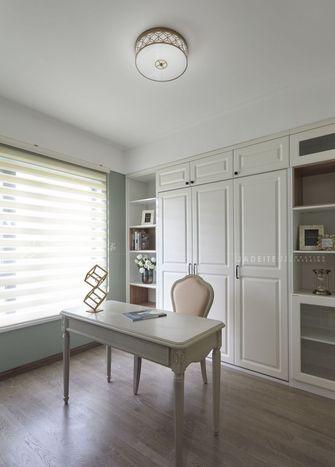 120平米三室两厅美式风格书房图片