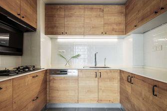 5-10万90平米三日式风格厨房装修效果图
